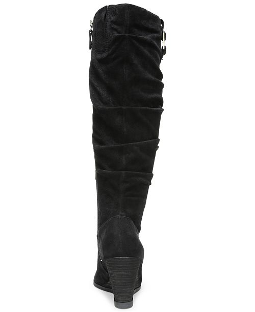 38d523b39672 Dr. Scholl's Poe Wide Calf Tall Boots & Reviews - Boots - Shoes - Macy's