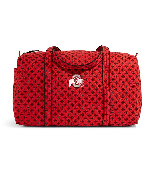 38a47db1bca8 Vera Bradley Ohio State Buckeyes Duffle - Sports Fan Shop By Lids ...