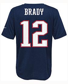 Nike Tom Brady New England Patriots Pride Player T-Shirt, Big Boys (8-20)