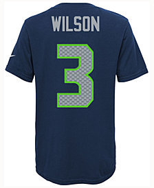 Nike Russell Wilson Seattle Seahawks Pride Player T-Shirt, Big Boys (8-20)