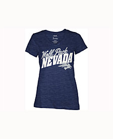 Pressbox Women's Nevada Wolf Pack Gander V-Neck T-Shirt
