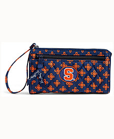 Vera Bradley Syracuse Orange Wristlet