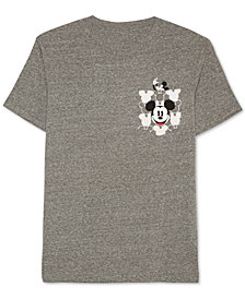 Mickey Mouse Graphic-Print Pocket Men's T-Shirt by Jem
