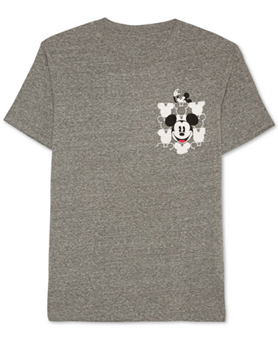 Jem Men's Mickey Mouse Graphic-Print Pocket T-Shirt - T-Shirts ...
