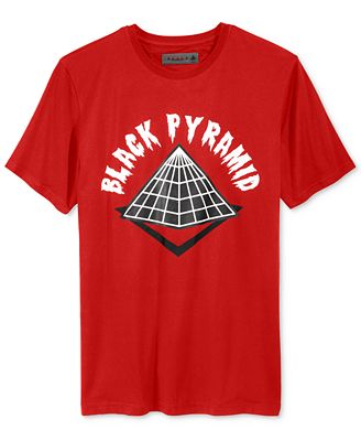 Black Pyramid Men's Drip Logo T-Shirt