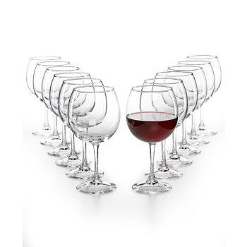 The Cellar Glassware Basics 12-Pc. Red Wine Set