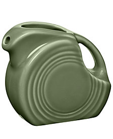 Fiesta Sage Mini Disk Pitcher