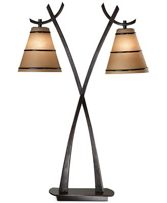 Kenroy Home Wright 2-Light Table Lamp