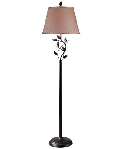 Kenroy home ashlen floor lamp lighting lamps for the home macys kenroy home ashlen floor lamp aloadofball Image collections