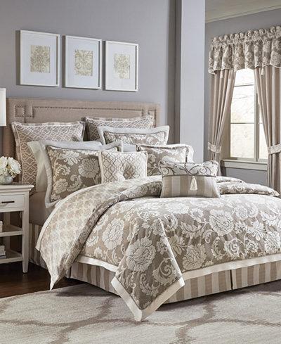 Croscill Anessa California King 4-Pc. Comforter Set