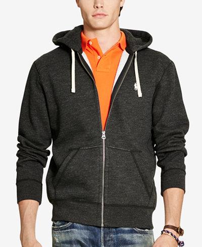 Polo Ralph Lauren Men's Zip-Up Hoodie - Sweaters - Men - Macy's