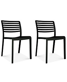 Lama Set of 2 Indoor/Outdoor Chairs