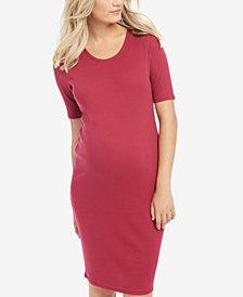 BumpStart Maternity Ruched Sheath Dress