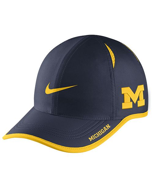 c80b03a2b01 Nike Michigan Wolverines Featherlight Cap  Nike Michigan Wolverines  Featherlight Cap ...