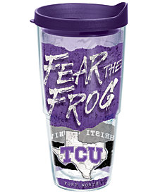 Tervis Tumbler TCU Horned Frogs 24oz Statement Wrap Tumbler
