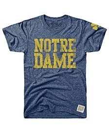 Men's Notre Dame Fighting Irish Tri-Blend Vault Logo T-Shirt