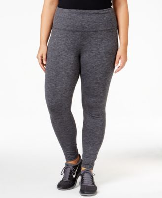Style & Co Plus Size Tummy-Control Leggings, Only at Macy's