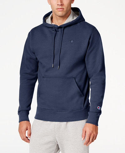 Champion Men's Powerblend Fleece Hoodie - Hoodies & Sweatshirts ...
