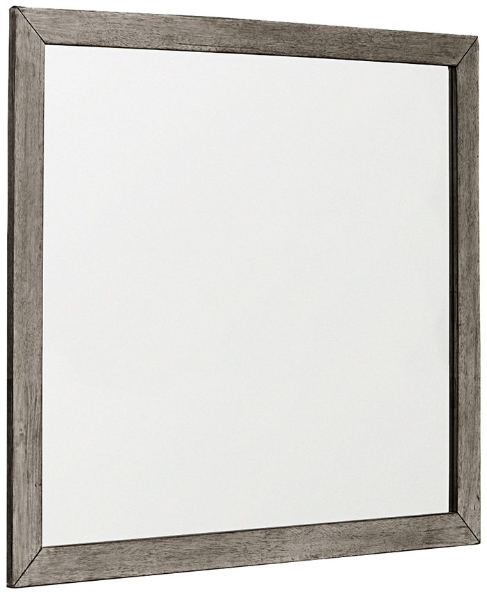 Furniture - Tribeca Grey Landscape Mirror, Only at Macy's