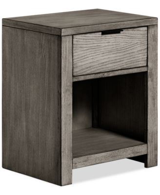 tribeca grey nightstand created for macyu0027s
