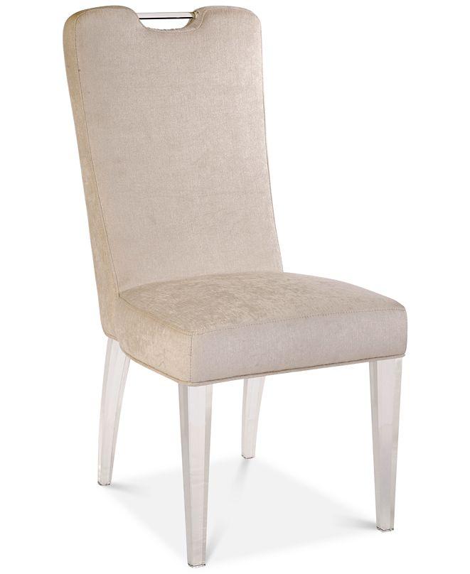 BLUSH & BRASS FeFerrareide Chair, Quick Ship