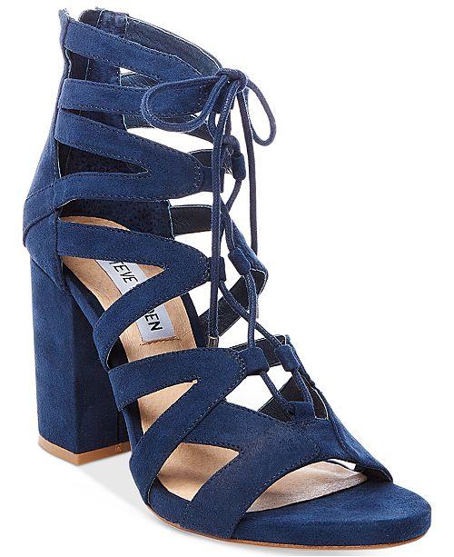 11e1992753b Steve Madden Women's Gal Lace-Up Sandals & Reviews - Sandals & Flip ...