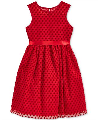 Marmellata Polka-Dot Dress, Little & Toddler Girls (2T-6X ...