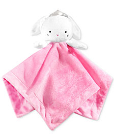 First Impressions, Baby Girls Bunny Cuddler Blanket, Created for Macy's