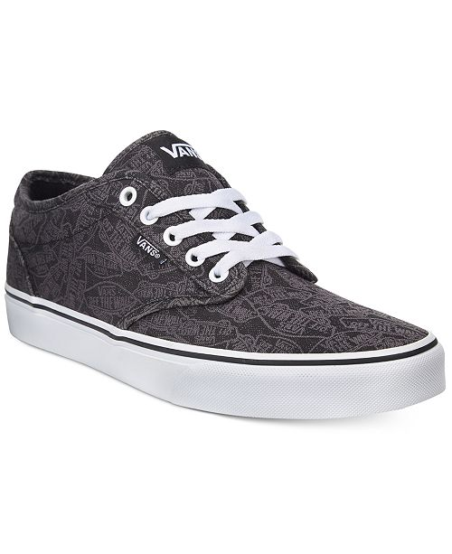 a5e8961385 Vans Men s Atwood Logo Sneaker   Reviews - All Men s Shoes - Men ...
