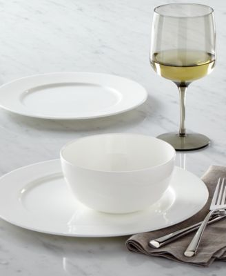 An affordable luxury from Hotel Collection Bone China dinnerware has a pure white glaze and sleek fluidity to impress every guest. & Hotel Collection Dinnerware Bone China Created for Macyu0027s - Fine ...