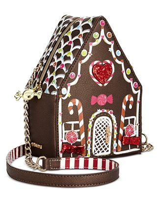 Betsey Johnson Gingerbread House Crossbody