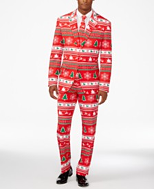 OppoSuits Men's Winter Wonderland Christmas Suit