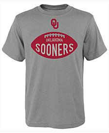 Outerstuff Kids' Oklahoma Sooners Embossed Football T-Shirt, Big Boys (8-20)