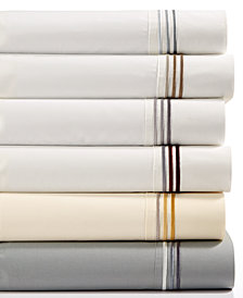 CLOSEOUT! CLOSEOUT! Hugo Boss Classiques Queen Fitted Sheet