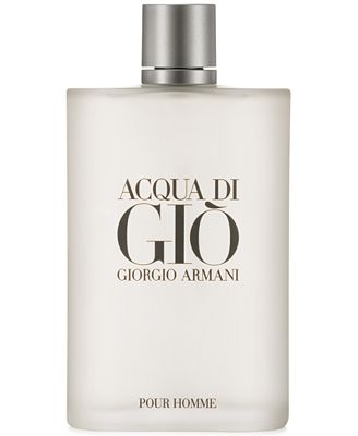 Receive a Complimentary Acqua di Giò Deluxe Mini with any value size spray purchase from the Giorgio Armani Acqua di Giò Men's fragrance collection