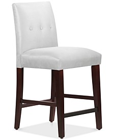 Mirrell Tapered Counter Stool with Buttons