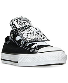 Converse Big Girls' Chuck Taylor All Star Double Tongue Casual Sneakers from Finish Line