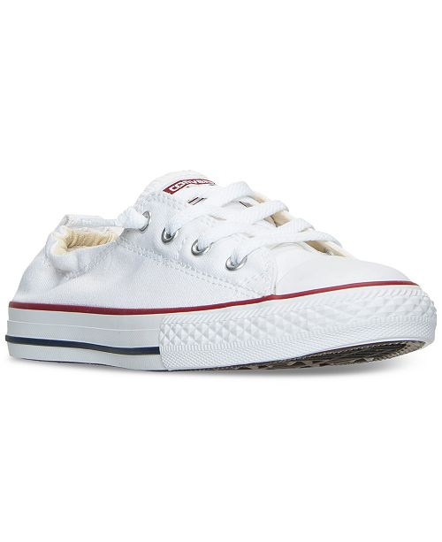 185d43f5bddb04 ... Converse Big Girls  Chuck Taylor All Star Shoreline Slip On Casual  Sneakers from Finish ...