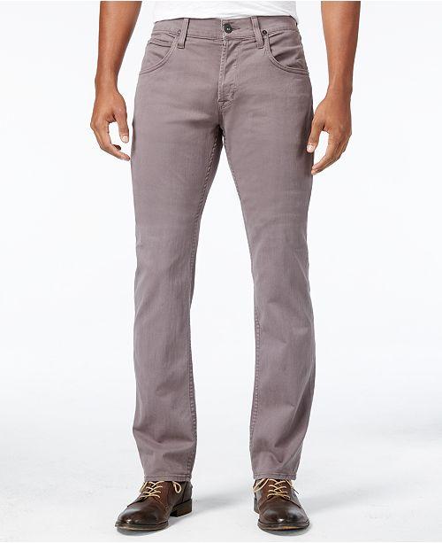fd6bc712287 Hudson Jeans Men's Byron Straight Fit Stretch Jeans & Reviews ...