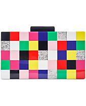 INC International Concepts Tile Box Clutch, Only at Macy's