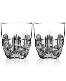 Dungarvan, Double Old-Fashioned Glass Pair