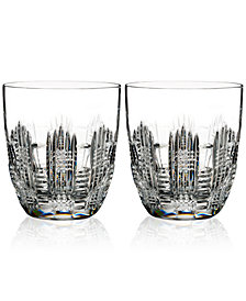Waterford Dungarvan, Double Old-Fashioned Glass Pair
