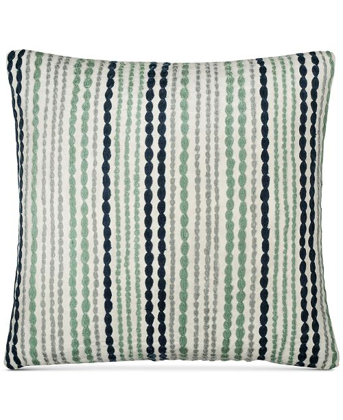 Donna Karan CLOSEOUT DKNY Loft Stripe Indigo 40 Square Decorative Mesmerizing Dkny Decorative Pillows