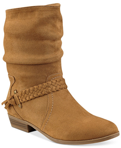 Indigo Rd Jalena Slouchy Booties Boots Shoes Macy S