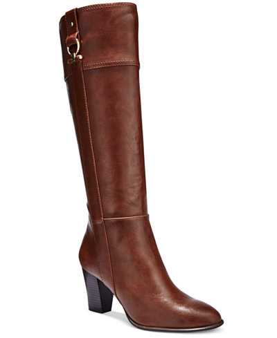 Alfani Women S Courtnee Tall Wide Calf Boots Only At Macy