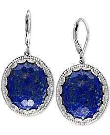 EFFY® Lapis Lazuli Drop Earrings (24-1/2 ct. t.w.) in Sterling Silver