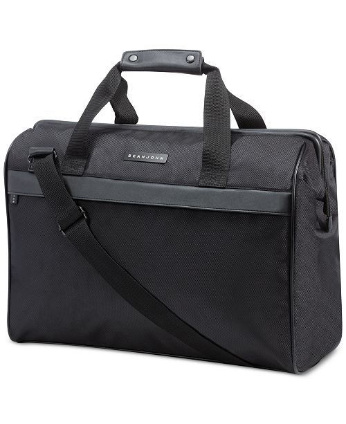 Sean John Receive a FREE Duffel Bag with any large spray purchase from the Sean John Men's Fragrance Collection