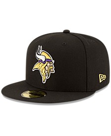 Minnesota Vikings Team Basic 59FIFTY Fitted Cap