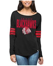 '47 Brand Women's Chicago Blackhawks Courtside Long Sleeve T-Shirt