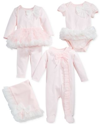 Baby Girls Tulle Tutu Bodysuit, Created for Macy's